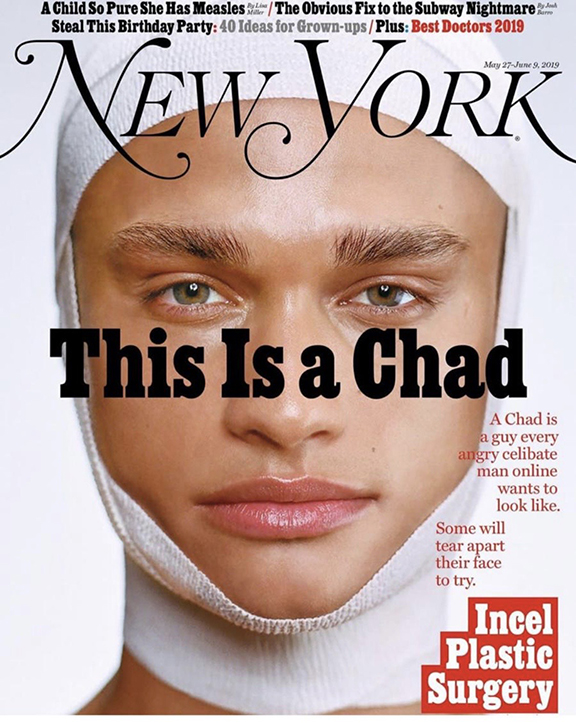 This is a Chad NY Mag Cover